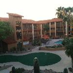 View from Room of Pool/ Putting Green
