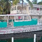 The boat for diving and snorkeling
