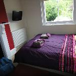 Bedroom for Lorna Doone (window close to pillow)