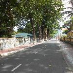 street on Con Dao Island