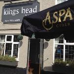 Aspall at the Kings Head