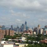 Freedom Tower view from rooftop patio