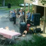Blue Grass at Bad Wolf BBQ