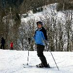 Downhill skiing very close by