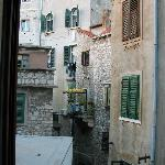 """Charming """"old Europe"""" street scene from my room in the back"""