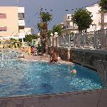 Zwembad van Angela