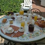 Zona colazione estate