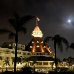 The Hotel del Coronado by Moonlight