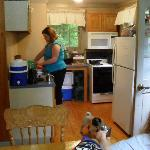 cabin 35 kitchen