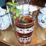 Refreshing mint tea at El Fishawi Cafe