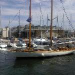 Boats in La Rochelle harbour