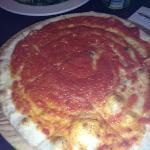 tomatoe garlic bread yummy