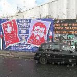 Falls Rd, West Belfast, mural