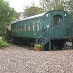La carrozza del treno