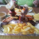 D & S Mixed grill