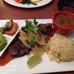 Skirt steak w/ chimichurri sauce