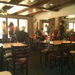 Inside the Idyllwild Cafe