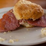 Country Ham Biscuit - so good!