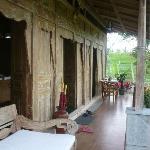 veranda of family villa (4 persons)