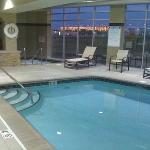 Pool and Jacuzzi next to Fitness Room not pictured