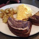 3 egg omelette
