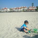 Extra wide clean beach access