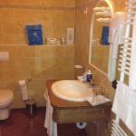 il bagno nuovo e spazioso