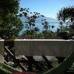 Balcony with hammock and seaview