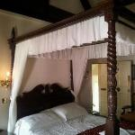 The wonderful four poster bed!