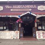 the Alexandra restaurant great Yarmouth