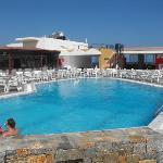 Pool at Siisi Bay Hotel