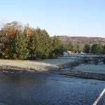A cool crisp fall morning at the spillway