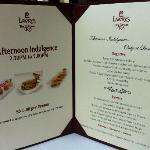 Afternoon Indulgence Menu (230-5pm)