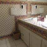 Même la salle de bain est magnifique