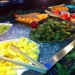 amazing fresh fruit bar