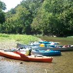 Kayak, canoe rentals and shuttle service at Green River Paddle Trail