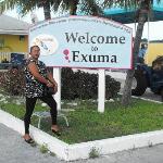 Exuma Airport Sign