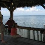 gazebo at end of small pier