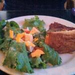 ham, orator, spinach quiche
