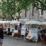 place Sant Josep en face de l'hôtel