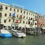 Front of the Carlton Hotel on the Grand Canal (sister hotel)