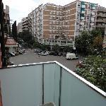 balcon y vista desde la habitacion