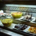 buffet dessert au resto italien