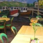 Beautiful Artwork Depicting an Irish Port