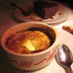 Creme brulle - smelled like marshmallows over a campfire !