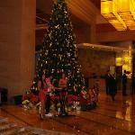The Christmas Tree at the Hotel Lobby