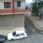 Calle desde una ventana