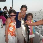 Our first catch of the day