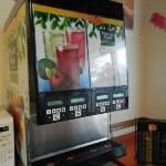 Café da manhã - Maquina de sucos inativa