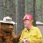 Smokey and Firefighter